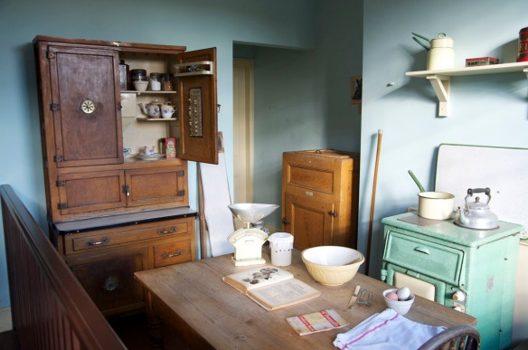 The charming 1930s kitchen